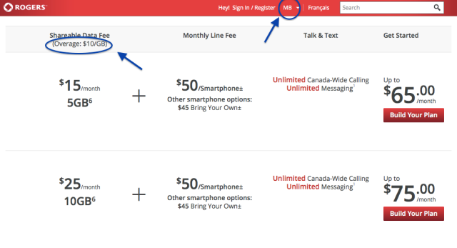 Rogers misleading advertising
